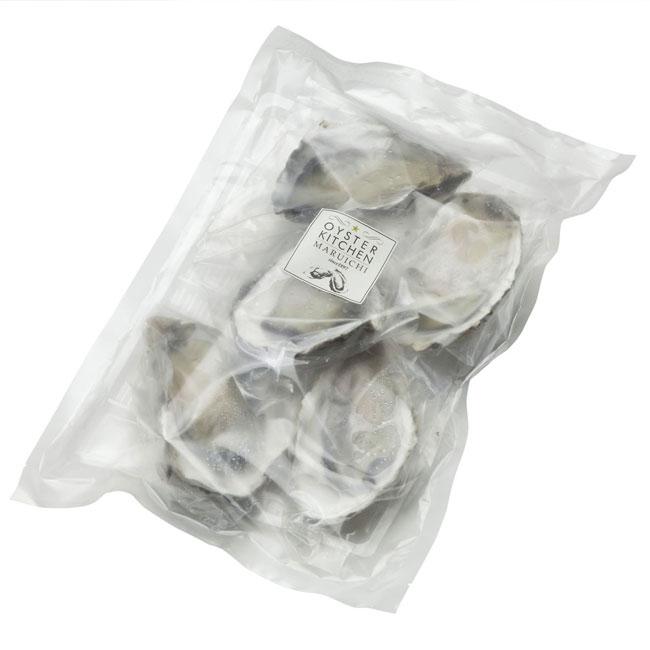 磯焼き殻付き牡蠣